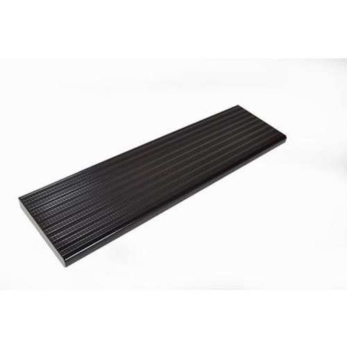 36 Inch Black Aluminum Step