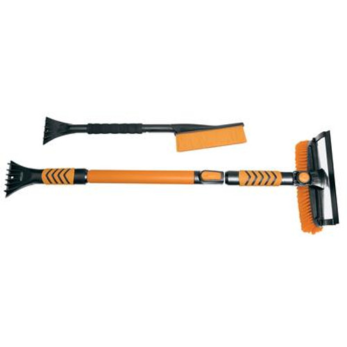 2 PK Telescopic Snowbrush W/ Scraper