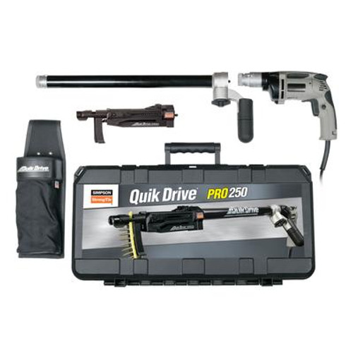 PRO250 Quik Drive System for Milwaukee 2500 RPM Screwdriver Motor