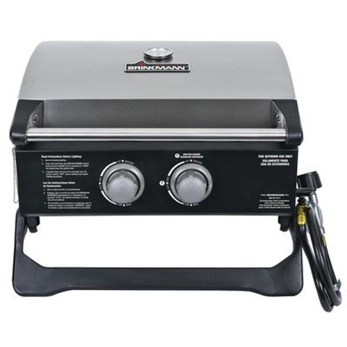 2 Burner Gas Table Top Grill