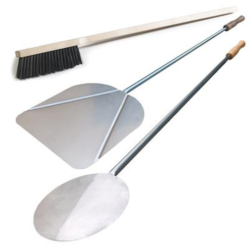 3 - Piece Deluxe Italian Pizza Peel Set
