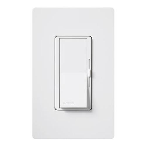 Diva 600-Watt Single Pole Dimmer - White