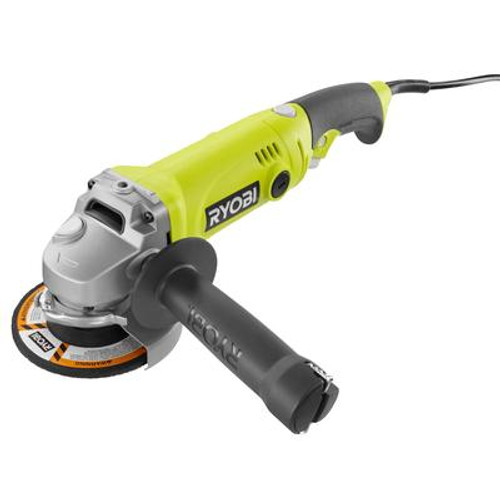 4-1/2 Inch Angle Grinder with Rotating Rear Handle