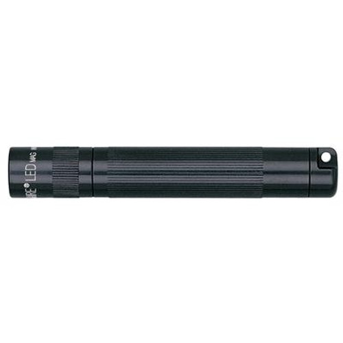 1-Cell AAA Solitaire LED Flashlight - Black