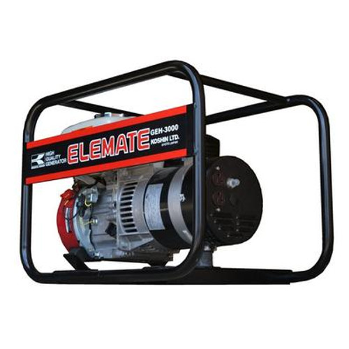 Generator (3000 watts) - Powered by Honda GX160 engine