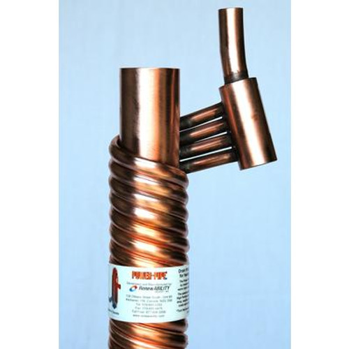 Power-Pipe R2-36 Drain Water Heat Recovery Unit