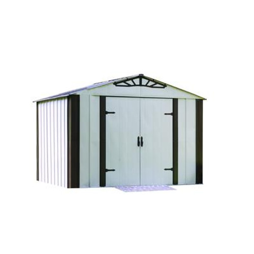 ARROW DESIGNER  Series Steel Shed (10 Ft. x 8 Ft.)