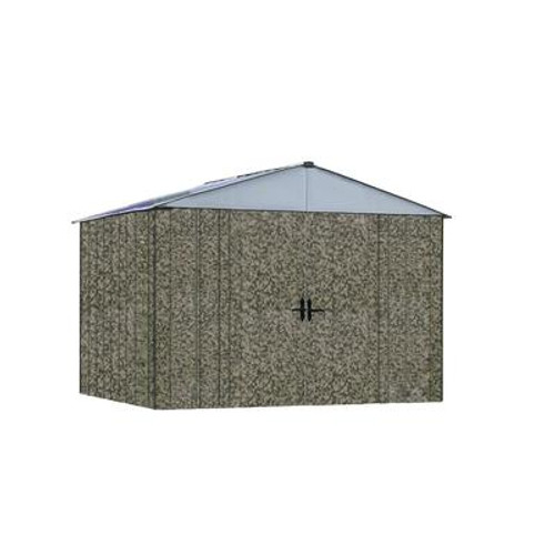 ARROW CAMO Steel Shed (10 Ft. x 8 Ft.)