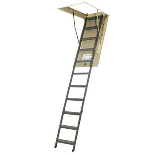 Attic Ladder (Metal Basic) OWM 25x54 300 lbs 10 ft 1 in
