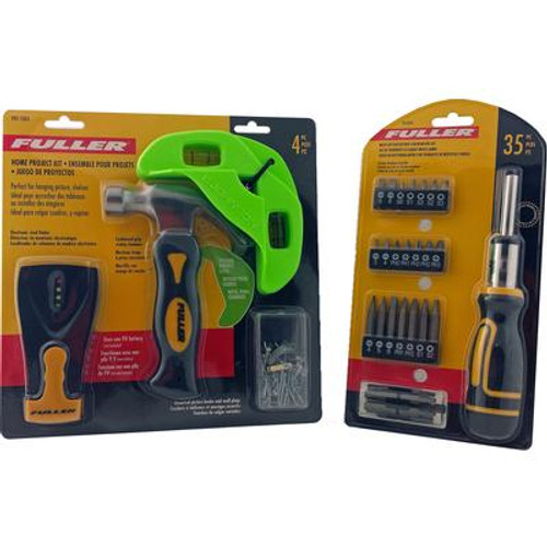 4 PC Decorator Kit & 35 pc Multi Bit Ratcheting Driver