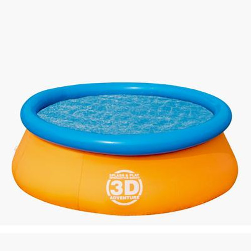 3D Adventure 7Feet Fast Set Family Pool