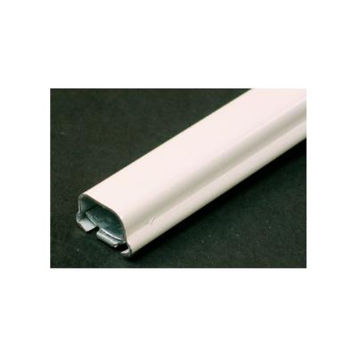 10 Ft. Metal Raceway Channel White