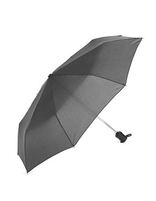 Fulton Automatic Herringbone Umbrella - Black