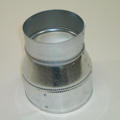 Plain Reducer 5 In. x 3 In.  26 Galvanized