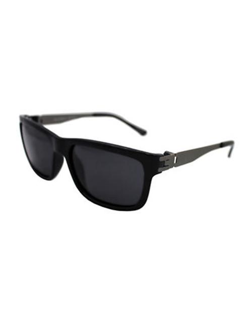 Alfred Sung Polarized Plastic Sunglasses - Black