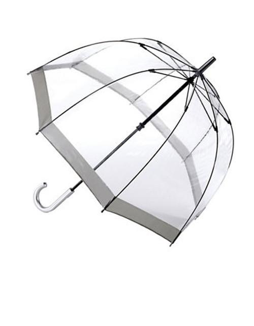 Fulton Birdcage Umbrella - Silver