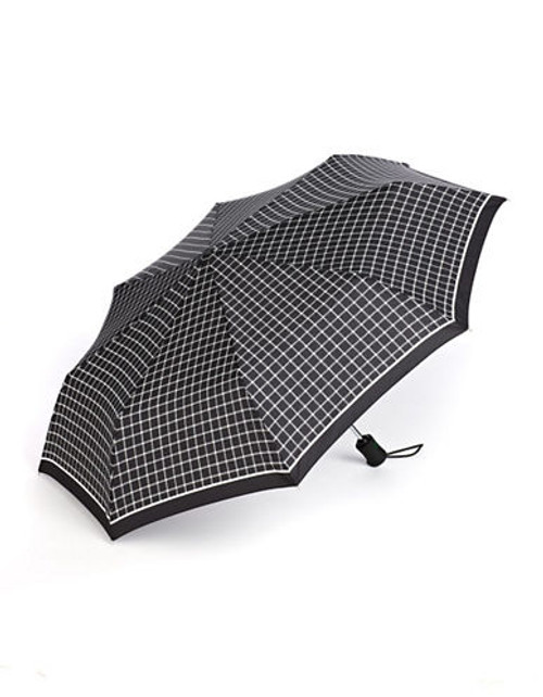 Fulton Superslim-1 Umbrella - Black and White Print