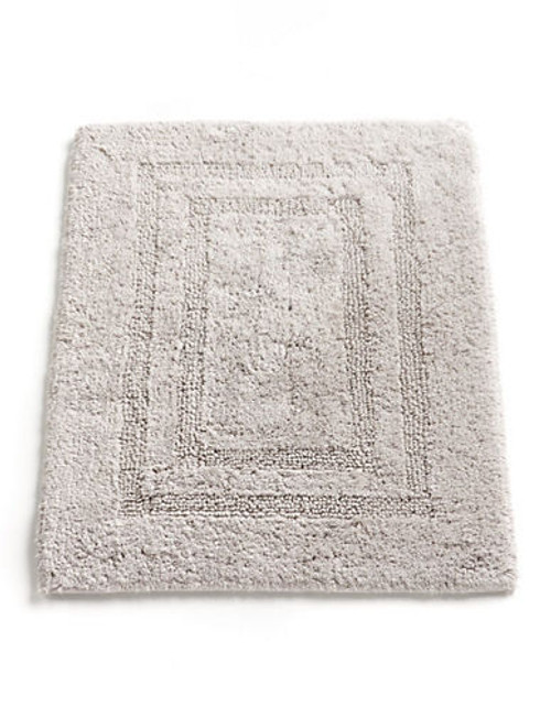 """Hotel Collection Reversible Bathmat 18""""x25"""" - Grey"""