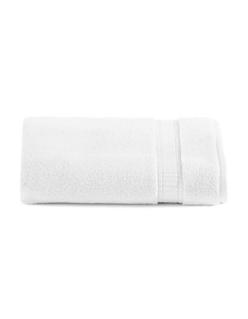 Calvin Klein Plush Towel Tub Mat - White - Tub Mat