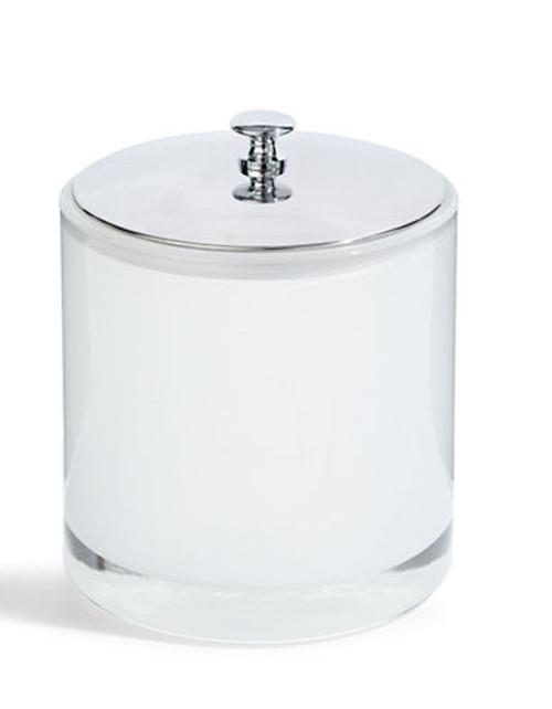 Distinctly Home Claro Cotton Jar - Silver