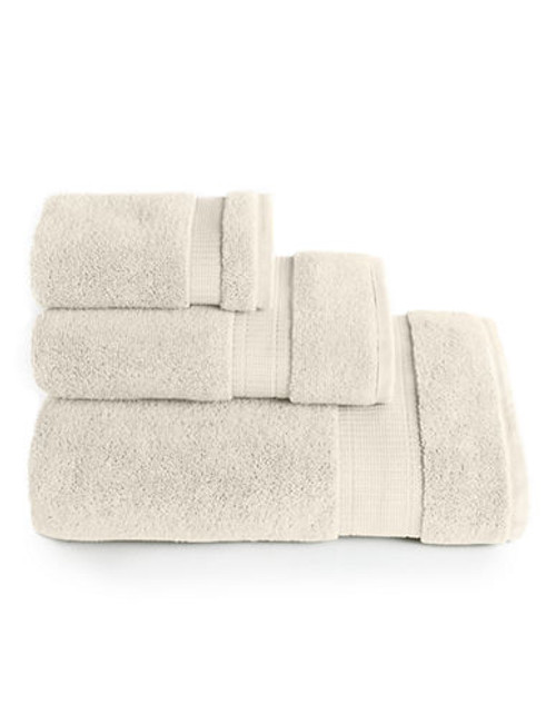 Calvin Klein Plush Hand Towel - Cream - Hand Towel