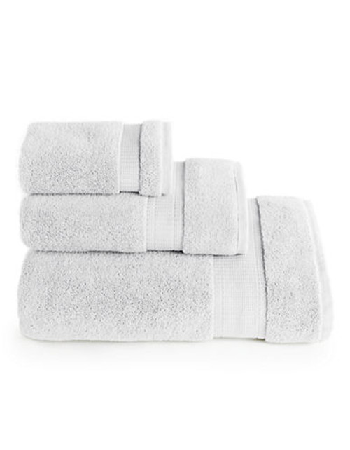 Calvin Klein Plush Hand Towel - White - Hand Towel