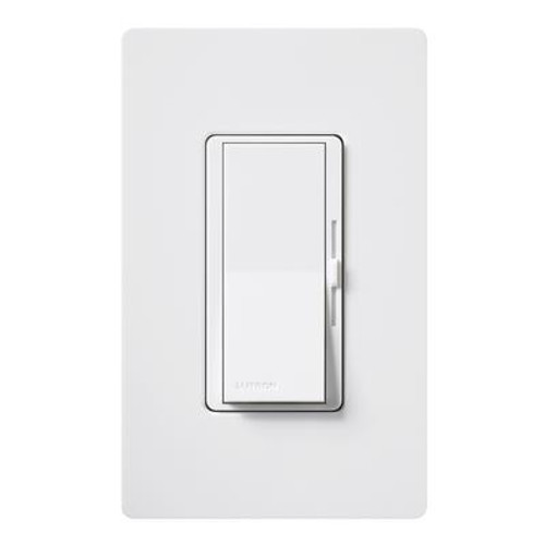 Diva White Preset Dimmer SP/600W with Plate