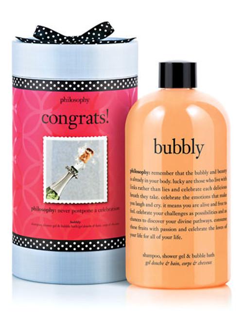 Philosophy congrats bubbly shampoo shower gel and bubble bath - No Colour - 480 ml