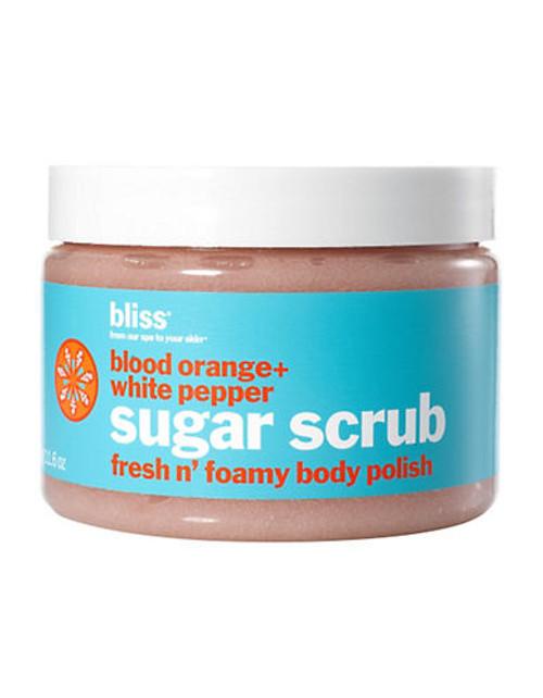 Bliss Blood Orange And White Pepper Body Scrub - No Colour