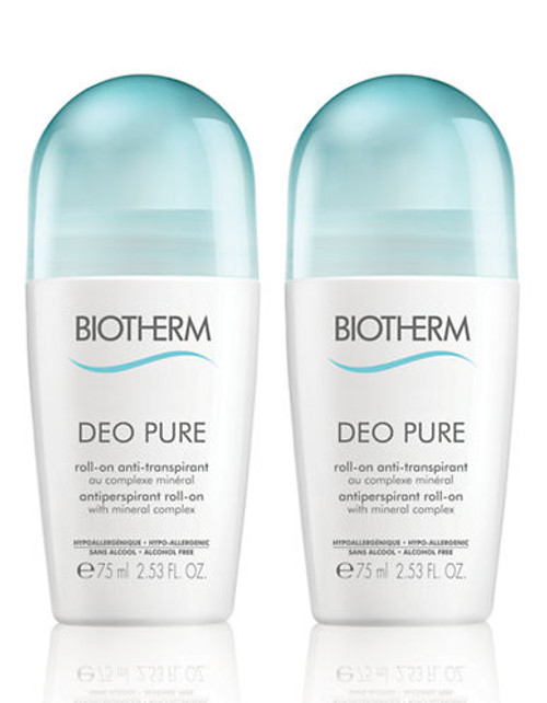 Biotherm Deo Pure Set Duo - No Colour