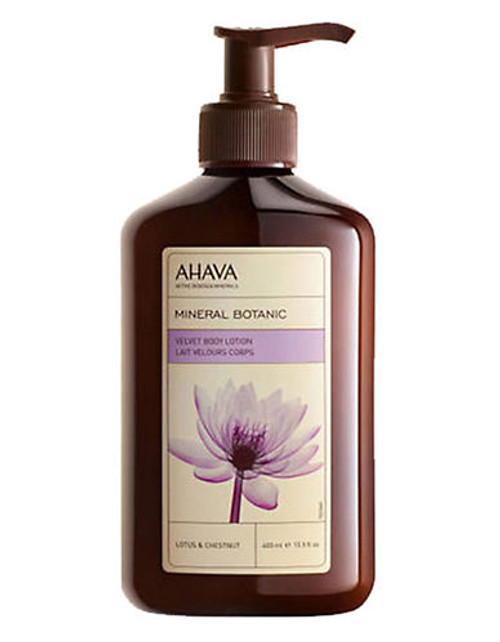 Ahava Mineral Botanic Body Lotion Lotus Flower And Chestnut - No Color