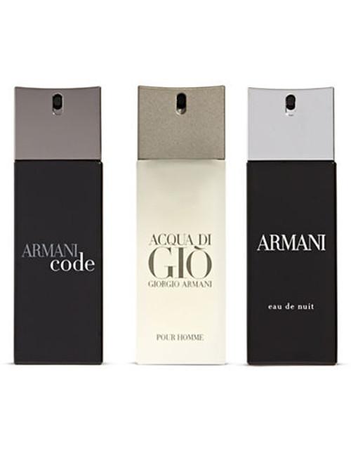 Armani 3 Piece Assorted Cologne Set - No Colour