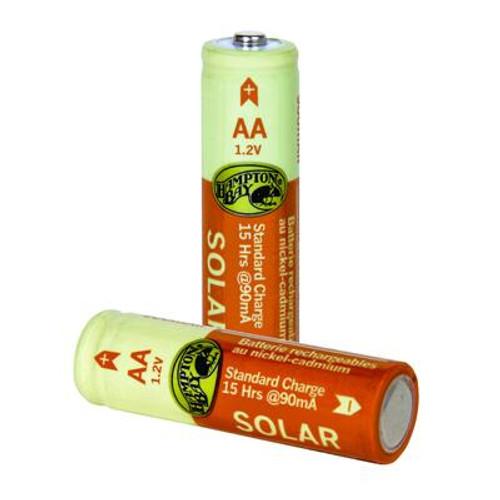 4-Pack 900mAh Nickel-Cadmium Rechargeable Batteries