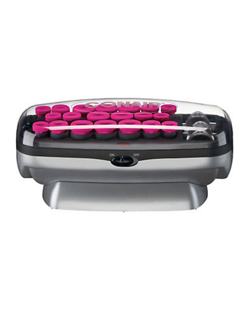 Conair Tourmaline Ceramic Ionic Instant Heat Hair Setter With Heated Clips - Pink