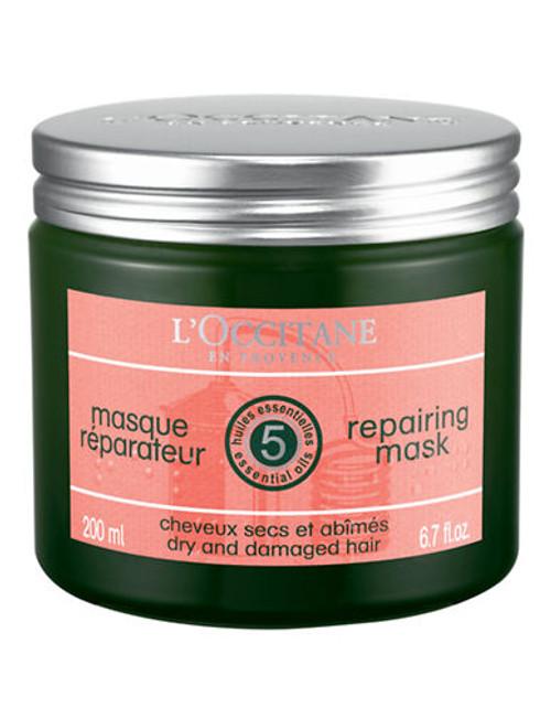 L Occitane Aromachologie Reparing Shine Mask For Hair - No Colour