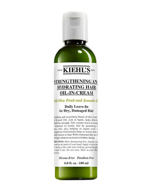 Kiehl'S Since 1851 Strengthening and Hydrating Hair Oil-in-Cream - No Colour - 125 ml