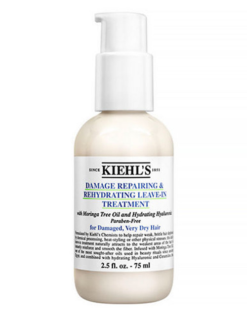 Kiehl'S Since 1851 Damage Repairing and Rehydrating Leave In Treatment - No Colour - 75 ml