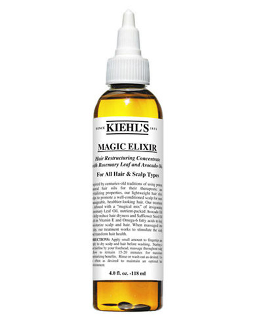 Kiehl'S Since 1851 Magic Elixir Hair Restructuring Concentrate with Rosemary Leaf and Avocado - No Colour - 125 ml