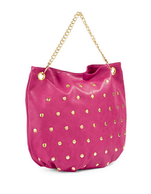 Nicki Minaj Studded Hobo Bag - Pink - 125 ml