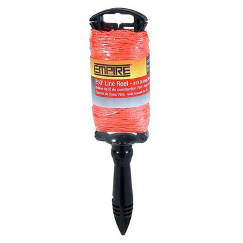 250 In. Braided Flourescent Orange Line Reel