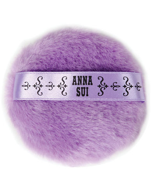 Anna Sui Puff Loose Face Powder PUFF - Purple