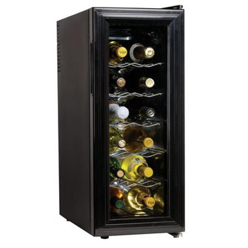 12-Bottle Thermoelectric Slim Wine Cellar