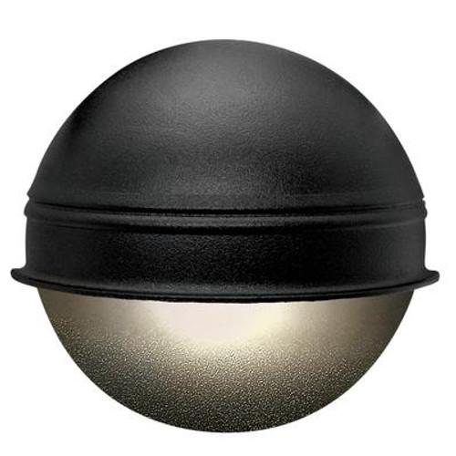 12V 7 Watt Round Deck Light Black