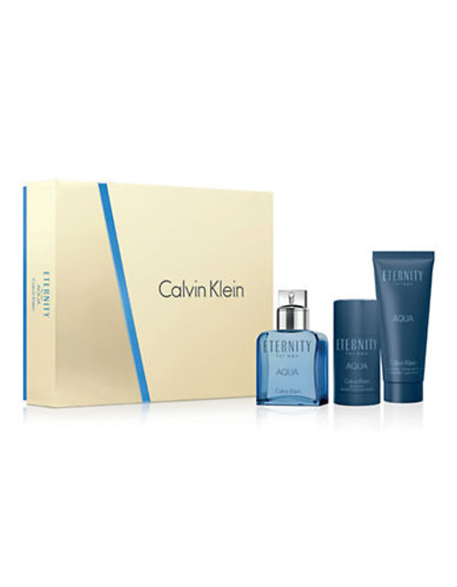 Calvin Klein Eternity For Men Aqua Gift Set - No Colour
