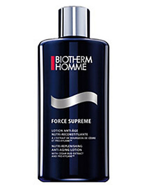 Biotherm Force Supreme Lotion Nutrireplenishing Antiaging Lotion With Cedar Bud Extract And Proxylane - No Colour - 200 ml