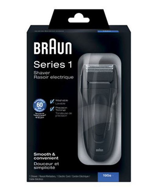 Braun CoolTec5 Shaver + Clean & Charge - Black