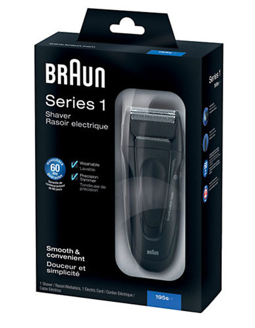 Braun Series 1  195 Shaver - Black
