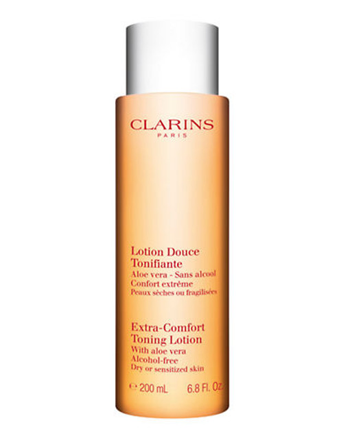 Clarins Extra Comfort Toning Lotion Alcohol Free For Dry Or Sensitized Skin - No Colour - 200 ml
