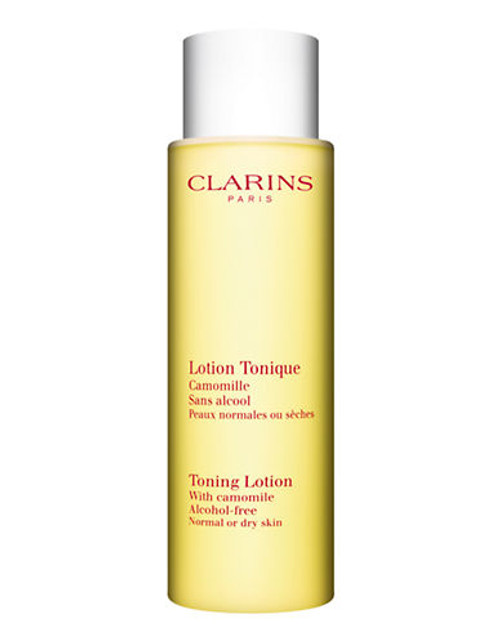 Clarins Toning Lotion Alcohol Free For Normal Or Dry Skin - No Colour - 200 ml