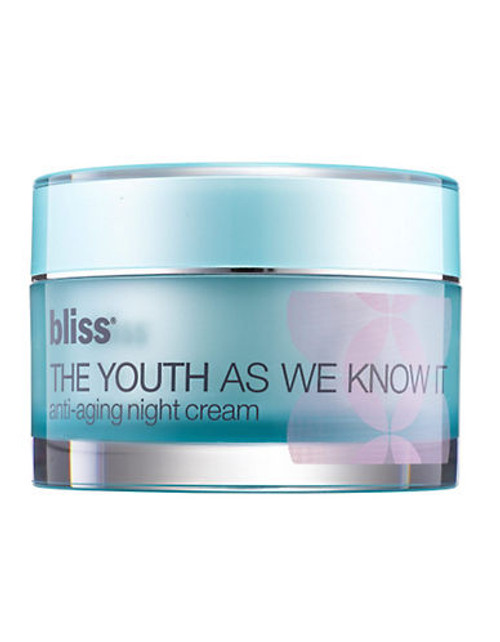 Bliss The Youth As We Know It Night Cream - No Colour